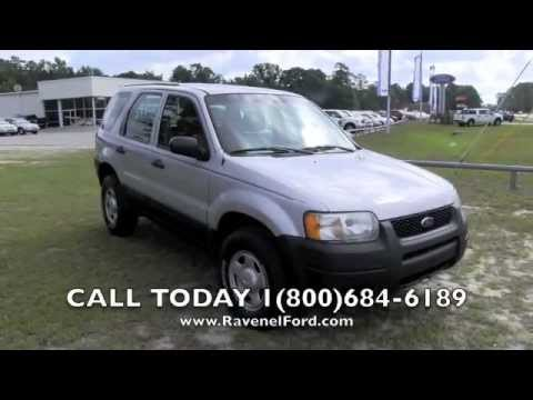 2004 ford escape xls ravenel ford charleston car videos. Black Bedroom Furniture Sets. Home Design Ideas