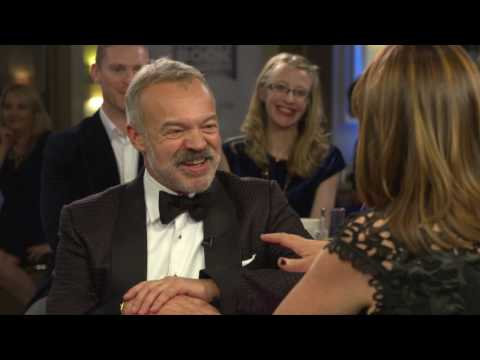 Backstage interview with Graham Norton  winner of the Irish Independent Popular Fiction Award