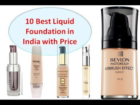 10 Best Full Liquid Foundations In India With Price I 2017 For Oily Dry Skin