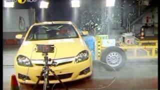 Euro NCAP | Opel/Vauxhall Tigra | 2004 | Crash test
