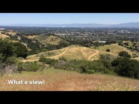 Hunters Point Trail Hike - Cupertino, California