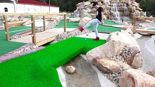 Once in a Lifetime Hole in One! Mini Golf Let