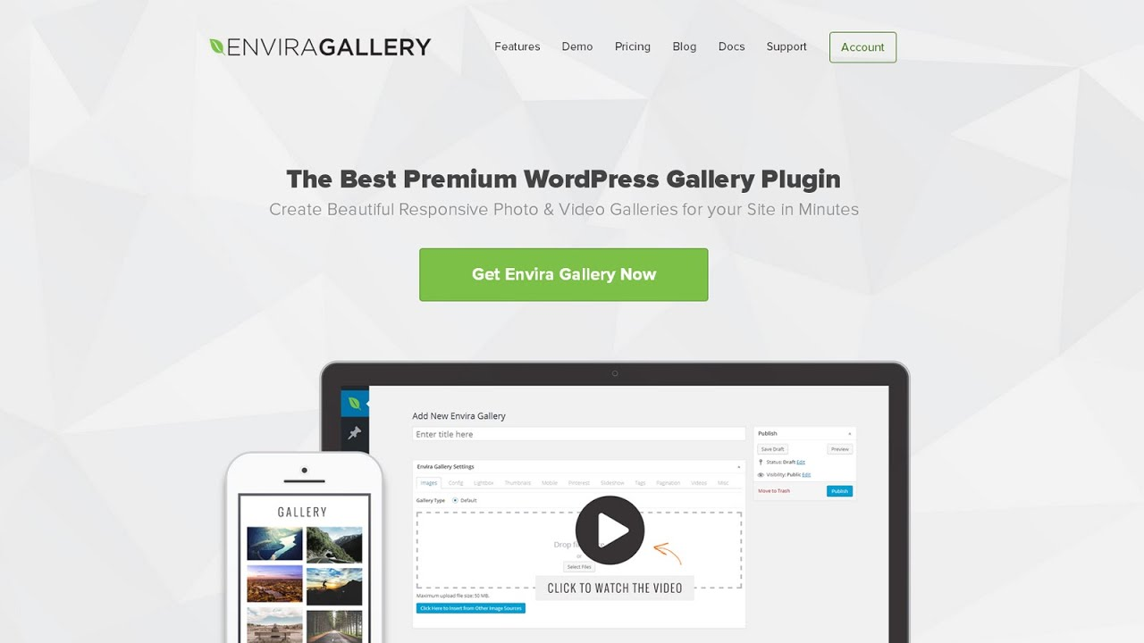 Gallery Plugin for WordPress – Envira Photo Gallery – WordPress