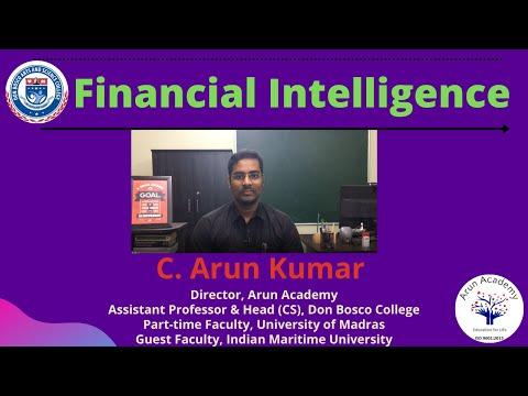 How to Save Money? | Financial Intelligence | Tamil | Prof. C. Arun Kumar