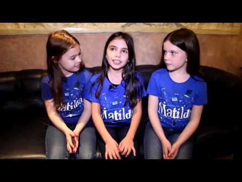 Meet the Stars of Matilda the Musical in Toronto