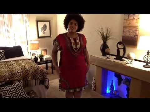 Afrocentric Home Decor/ Liberian Festival