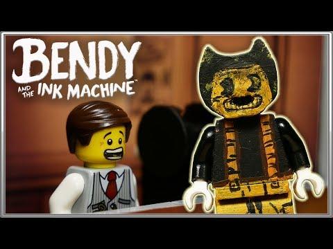 LEGO Мультфильм Бенди и чернильная машина - Глава 2 / LEGO Stop Motion, Animation