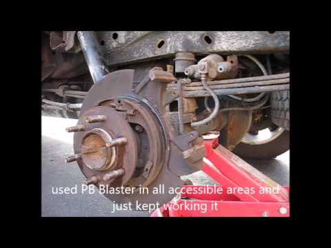 F150 Brake Rotors Pads And Emergency Brake
