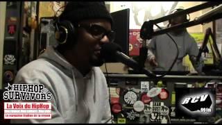 Interview et session live de Kadaz et Junior sur RCV (La Voix du HipHop)