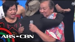 It's Showtime: Lito Atienza surprises son Kuya Kim on 'Showtime'