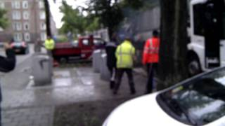 """Officier van de brandweer toe aan promotie....""""blusbom"""