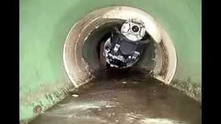 AST Grupo. INSPECCIÓN de TUBERÍAS con ROBOT CCTV