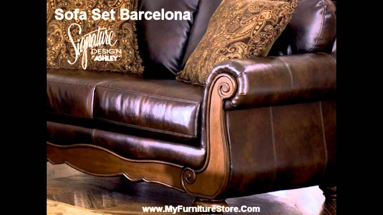 Barcelona Sofa Set Signature Design By Ashley