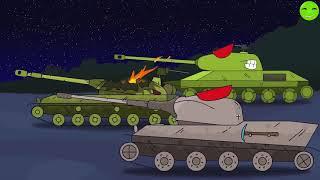 HE MONSTER - clip Phim hoạt hình về xe tăng [Gerand VN]