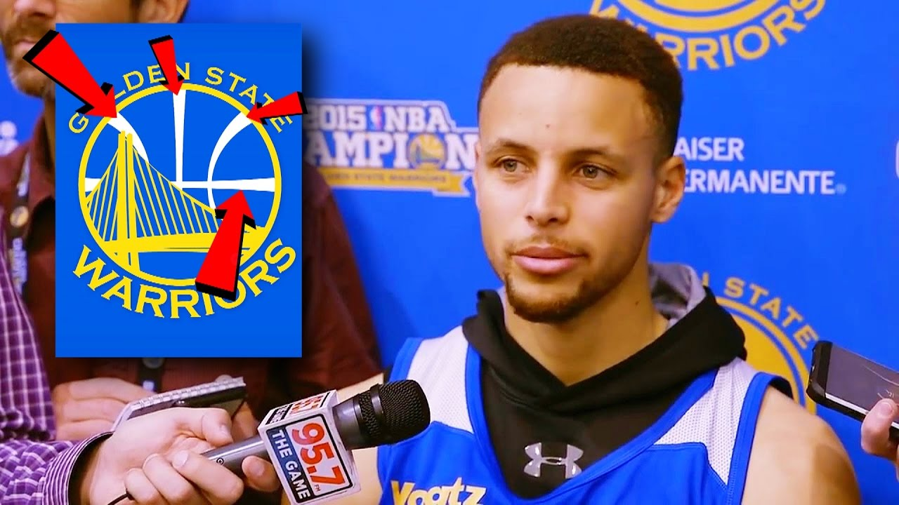 Stephen Curry Reveals Secret Meaning Of Warriors Logo Youtube