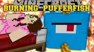 Minecraft: BURNING RAINBOW FUN HOUSE (2 AMAZING HOUSES!) Mini-Game