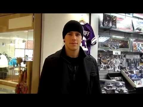 SHOUT OUT MINNESOTA @ShoutOutMN interviews CHARLIE COYLE of the MINNESOTA WILD