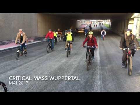 Critical Mass Wuppertal - Mai 2017 (Döppersberg-Durchfahrt)
