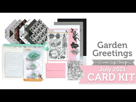 Card Kit Reveal and Inspiration: Garden Greetings