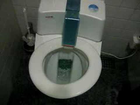 a robotic toilet