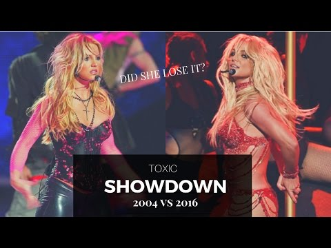 BRITNEY SPEARS | TOXIC CHOREOGRAPHY (2004 VS 2016) Did she lose it?!