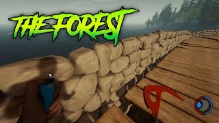 CONSTRUYENDO MI FORTALEZA | THE FOREST CREATIVO Gameplay Español - Forety