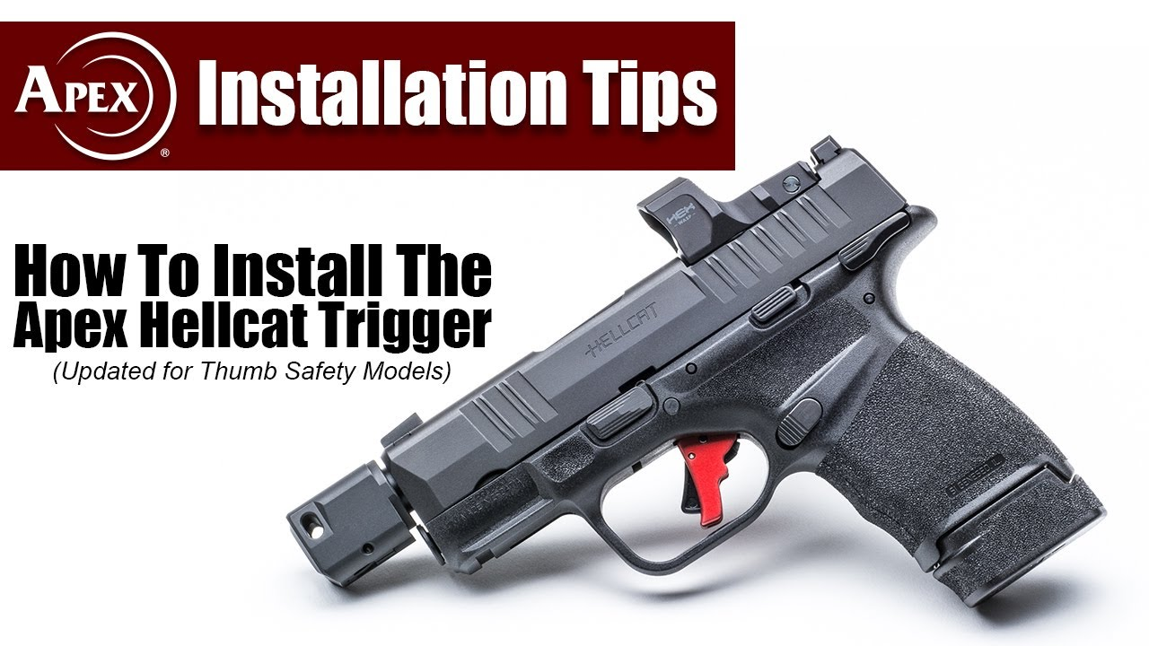 How To Install The Apex Action Enhancement Trigger For The Hellcat (incl. Thumb Safety)