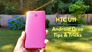 HTC U11 Android Oreo Tips and Tricks! Edge Launcher, new gestures and more!