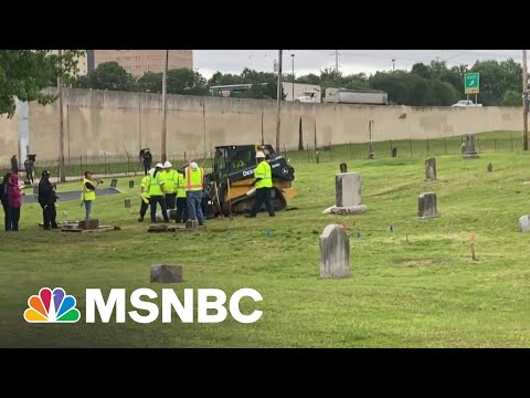 Archaeologists Excavate Mass Grave In Search Of Tulsa Massacre Victims