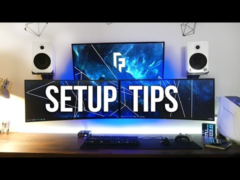 5 Tips to Improve Your Desk / Gaming Setup