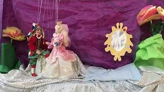 Marionetti-esitys Pereen päiväkoti