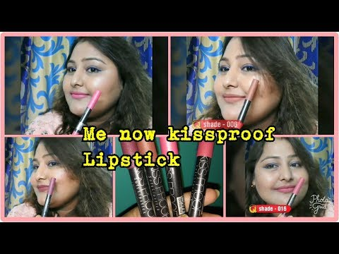 me-now-kiss-proof-lipstick-review-&-swatches-  