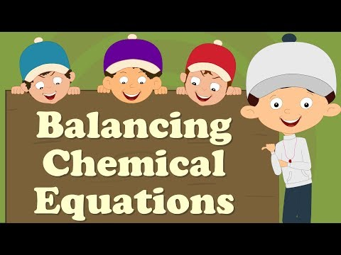 Balancing Chemical Equations for beginners | #aumsum #kids #education #science #learn