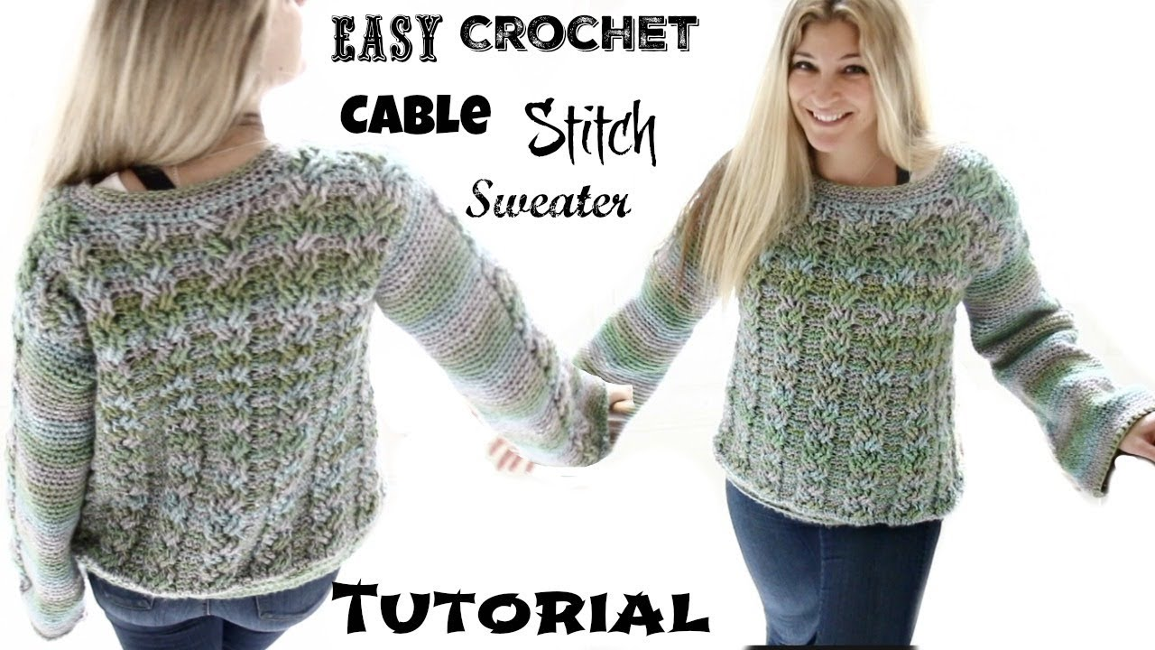 how to make a cable stitch