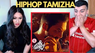 *OMGGG* TAKKARU TAKKARU Reaction | Hiphop Tamizha (Tamil) | OUR FIRST EVER LISTEN!!!!