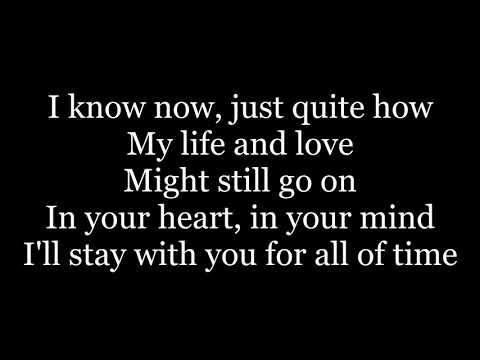 The Calling - Wherever You Will Go (lyrics)