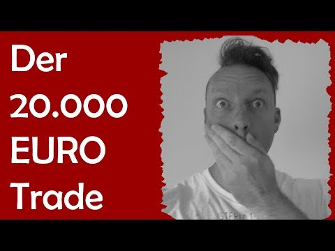 Live-Trading im DAX: Road to 20.000 Euro!