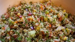 Whole Wheat Couscous Tabouleh Recipe - Ecorico