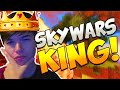 THE SKYWARS KING! | Minecraft: SKYWARS CHALLENGE ROULETTE! #15