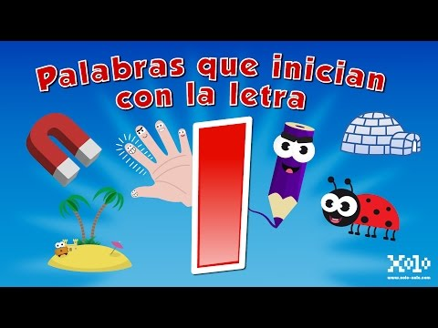 Words that start with the letter i for children in Spanish