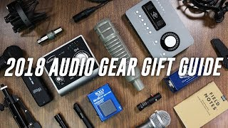 Audio Gear Gift Guide 2018