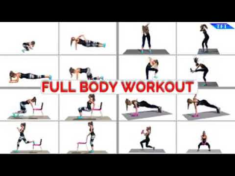 16 different moves for a fullbody workout  team fitness
