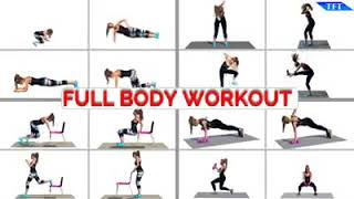 16 Different Moves for a Full-Body Workout - Team Fitness Training