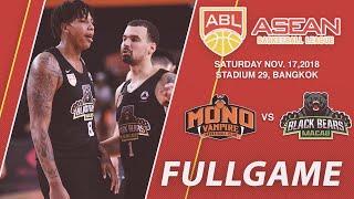 Mono Vampire Basketball Club vs Macau Black Bears | FULL GAME | 2018-2019 ASEAN Basketball League