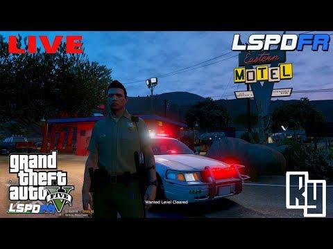 "LIVE: GTA 5 LSPDFR Police Mod ""No Tell Motel Patrol"" (Blaine County)"