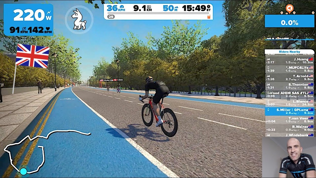 New Zwift London Course Expansion: First Ride (inc  Real Road Comparison)