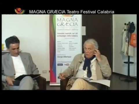 TALK SHOW ALBERTAZZI Magna Graecia Teatro Festival 2012
