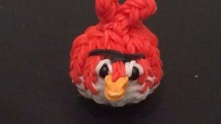"""Рэд из игры """"Angry Birds"""" из Rainbow Loom"""