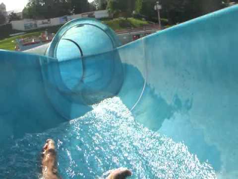 Ma44 wasserrutsche im schafbergbad mit pawel youtube - Wasserrutsche fur pool ...