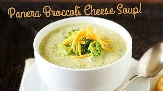 PANERA BROCCOLI CHEESE SOUP! - Vlog